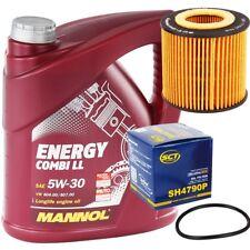 5W-30 Motoröl 5L Mannol Energy Combi LL +  Ölfilter SEAT SKODA VW FOX POLO 9N 6R