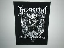 IMMORTAL NORTHERN CHAOS GODS BACK PATCH