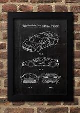 Ferrari Patent FineArt Print A4 Kunstdruck Galeriequalität handsigniert