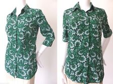 Sportscraft Size 6 - 8 US 2 - 4 Button Down Shirt Blouse