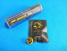 Predator Tip / Chalk Combo- Medium Victory Cue Tip & 5 Pc 1080 Pure Chalk Tube