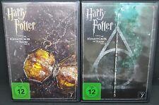 Harry Potter und die Heiligtümer des Todes 7.1 + 7.2  ( 2 x DvD SET ) NEU