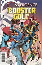 Convergence Booster Gold '15 2 Jurgens Cover NM S3