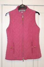 Joules Mujer Chaleco Body warmer Rosa Talla 8
