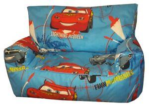 Disney Cars Bean Bag Sofa (Children's, Toddler, Kids Beanbag sofas)