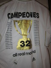 NWT SOCCER JERSEY REAL MADRID CAMPEONES 32 CHAMPIONS RARE VINTAGE LARGE SOLD OUT