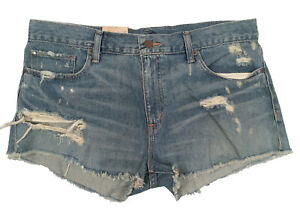 NEW Ralph Lauren Denim & Supply Jeans Shorts!  Distressed   Rips & Fraying