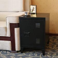 Metal Locker Storage Cabinet Next to Bed Bedside Cabinet Stand Bedroom Locker UK