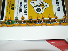 EAST FIFE 1977 SUBBUTEO TOP SPIN TEAM IN NAMED BOX.