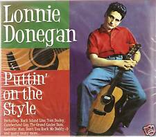 LONNIE DONEGAN PUTTIN' ON THE STYLE 3 CD BOX SET