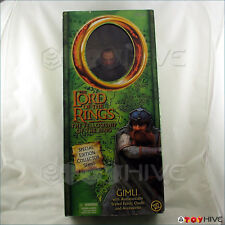 Lord of the Rings 12 inch collector series Gimli the dwarf Felllowship of Rings
