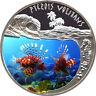 "2010 Rwanda ""Pterois Volitans"" Silver Proof Coin 500 Francs *rare"