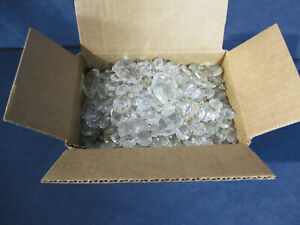 Prisms Crystal Glass Teardrops Round Faceted Vtg Chandelier Part Craft Lot 5 lbs
