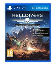 Helldivers Super-Earth Ultimate Edition (PS4) BRAND NEW SEALED PLAYSTATION