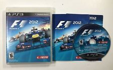 F1 2012 - PS3 - Complete In Case CIB w/ Manual - Sony PlayStation 3