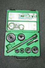Greenlee Slug Buster 7238SB Knockout Punch Set In Hard Case LOOK!!