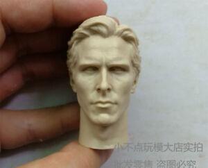 The best blank 1/6 scale Head Sculpt BATMAN Bruce Wayne Christian Bale unpainted