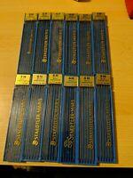 Big Lot VTG Staedtler Mars Lumograph Pencil Drawing Leads Boxes 2H 3H 4H 5H 6H