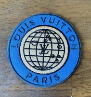 NEW Louis Vuitton 2014 Explorer Parka Globe Iron On Patch Luxury NWT