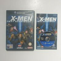 Nintendo GameCube X-Men The Next Dimension PAL with manual and free uk postage
