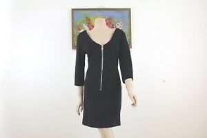 WOMAN DRESS SIZE M MY-D BLACK MADE IN ITALY