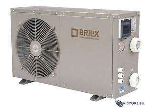 Brilix Wärmepumpe Spa Hot Tub Swimspa Spa oder Swimmingpool Poolheizung XHP-100