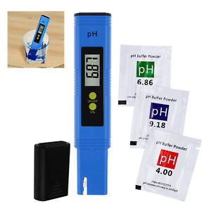 Digital Water Quality pH Meter Pen type 0.01pH for Laboratory, Household Water