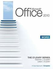 Microsoft Office Word 2010 A Case Approach Introductory O'Leary Text Book