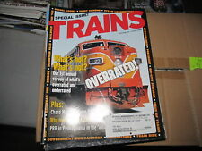 """Vintage """"Trains"""" magazine lot complete/full year 2004"""