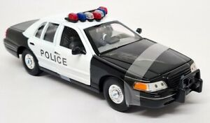 Nex Models 1/24 Scale 1999 Ford Crown Victoria Police Cruiser Diecast model car