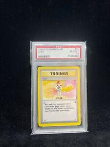 Pokemon Base Set Lass 75/102 - 1999-2000 Print - Graded Card PSA 10