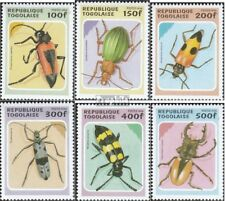 Togo 2396-2401 (compleet Kwestie) MNH 1996 Kevers