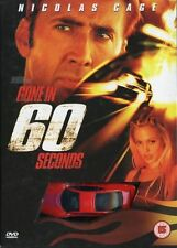 Gone In 60 Seconds DVD Nicolas Cage Used Movie
