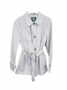 the collections  debenhams ladies double breasted belted trench coat