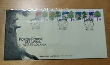 Malaysia 1999 Pokok-pokok Trees stamp set FDC
