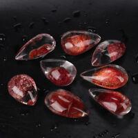 1Pc  Natural Ghost Phantom Quartz Crystal Gems Specimen Healing Stone Pendant