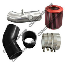 "3"" Intake Pipe Air Filter Kit For 03 Mazdaspeed Protege 2.0L Turbo Black Hose"