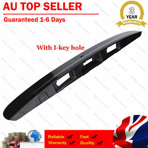Fit Nissan Dualis J10 Tailgate Door Handle Garnish Cover With I-key hole 2007-13