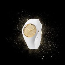 ICE GLITTER WHITE GOLD * SMALL (S) * WOMEN'S WATCH * Special Offer *