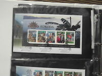 KOKODA JOINT ISSUE   2010 AUSTRALIA STAMPS  FIRST DAY COVER MINI SHEET