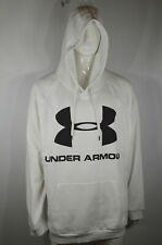 Under Armour Men's Hoodie 5XL Loose fit ColdGear White  NWT