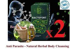 2 pcs BACTEFORT Anti parasite Natural Herbal Body Cleansing 2x30ml 100% original