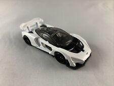 Hot Wheels - 2020 Mclaren Senna WHITE - Diecast Collectible - MINT LOOSE - 1:64