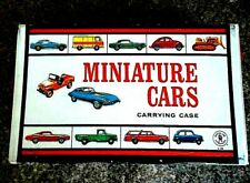 1966 VINTAGE MATCHBOX CARRYING CASE FOR SALE HOLDS 40 MINIATURE CARS NICE SHAPE!