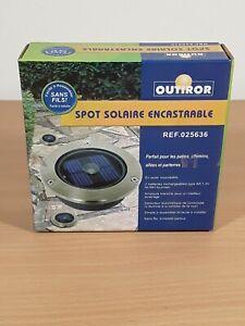 Spot Solaire Encastrable Neuf