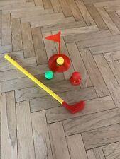 He Jun Toys Kids Mini Golf Indoor With Club, Hole, 3 Balls, Tee, Flag