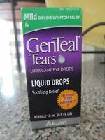 GENTEAL Tears Lubricant Eye Drops Mild Liquid Drops 15 mL Exp 9/20