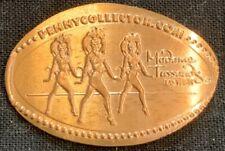 Dancing Showgirls - Madame Tussauds Las Vegas Nevada Copper Pressed Penny