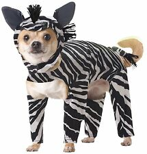 ZEBRA DOG COSTUME - ANIMAL PLANET - SIZE MEDIUM