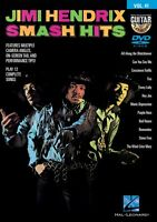 Jimi Hendrix Smash Hits Guitar Play-Along DVD NEW 000130592